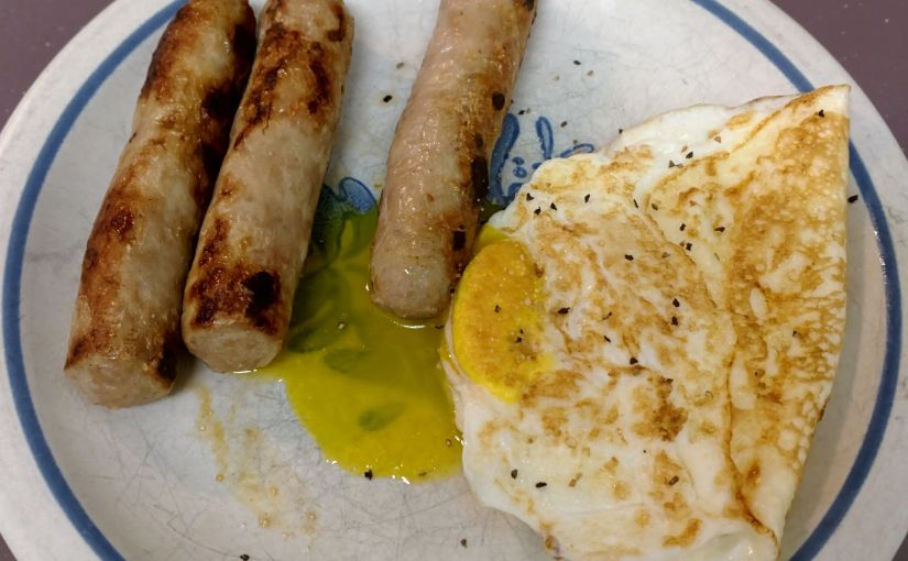 Egg and turkey sausage
