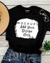 Gildan T Shirt Mockup Flat Lay Shirt Mock Up Apparel Etsy