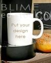 Blank White Mug Mockup Coffee Cup Mockup Styled Stock Etsy