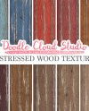 Distressed Wood Digital Paper Vintage Colors Wood Etsy