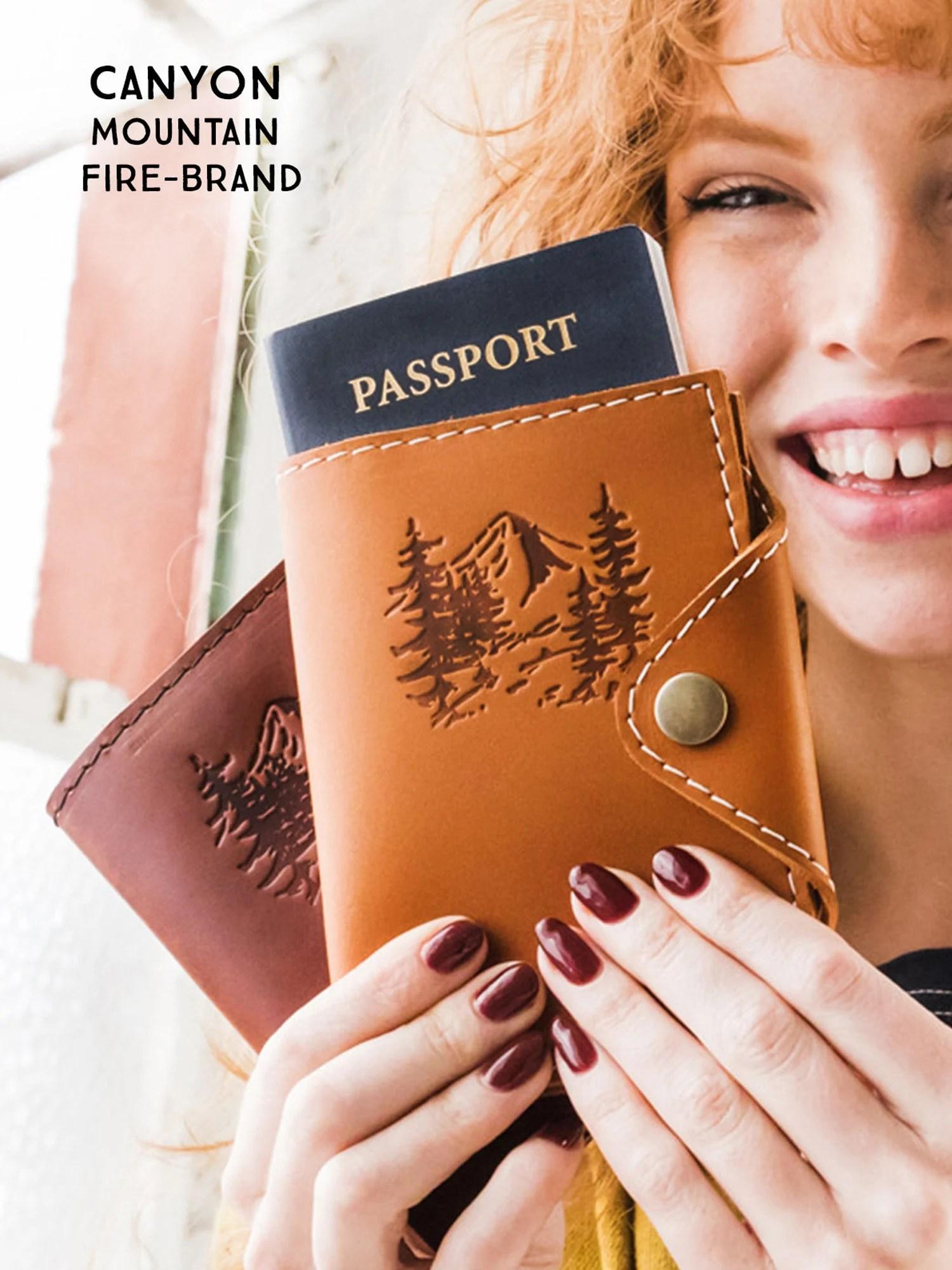 Passport Cover Travel Passport Personalized Cover... Custom image 5