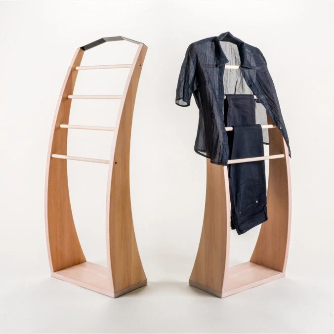solid beech wood clothes stand wooden clothes rack clothes hanger bedroom clothes valet solid beech wood hand oiled