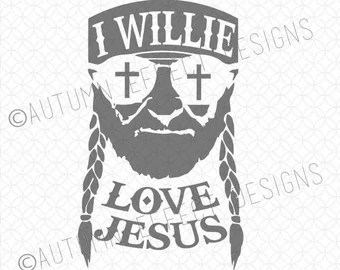 Download Willie nelson svg | Etsy