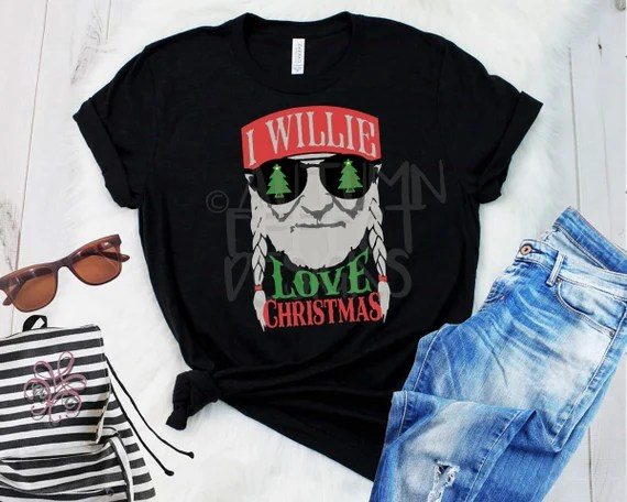 Download I Willie Love Christmas SVG DXF Willie Nelson Christmas ...