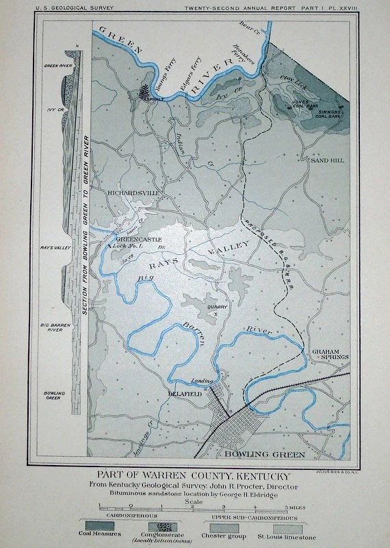 Bowling Green Ky Us Map
