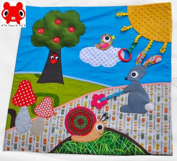 fabriquer un tapis d eveil montessori