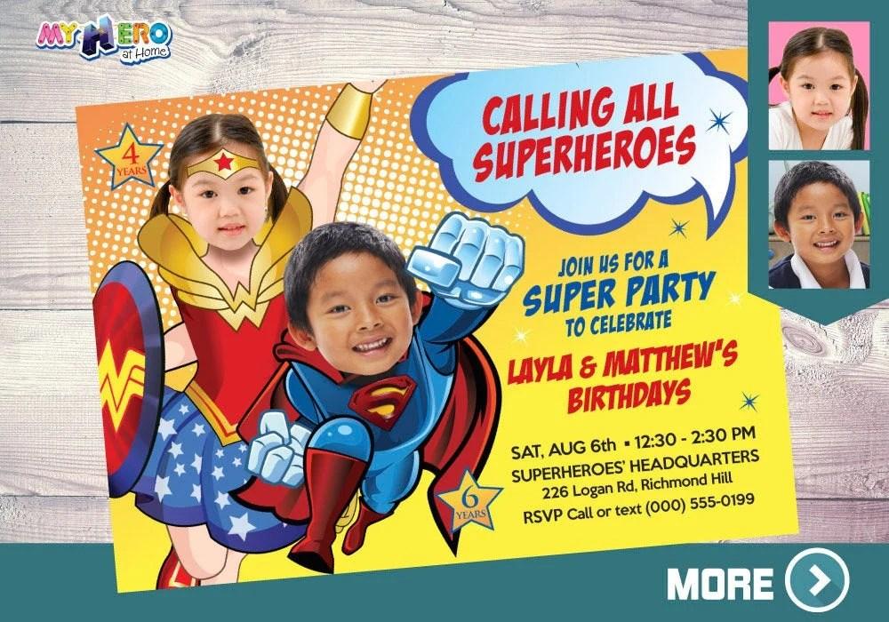 wonder woman and superman birthday