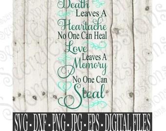 Download You left me beautiful memories Svg Sympathy SVG Digital   Etsy