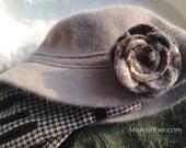 Eco Wool Felt Crochet Ros...