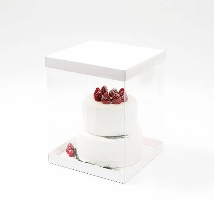 Cake box   Etsy Baking Boxes   Large   Clear Cake Box   Plain   Wedding Cake Box