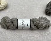 Jacob British Wool - West Yorkshire Spinners - Naturally coloured wool - undyed yarn - Colour: Light Grey #005 - 100g Aran weight
