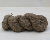 Bluefaced Leicester - British Wool - (WYS) West Yorkshire Spinners - undyed yarn - Colour: Light Brown #002 - 100g Aran weight