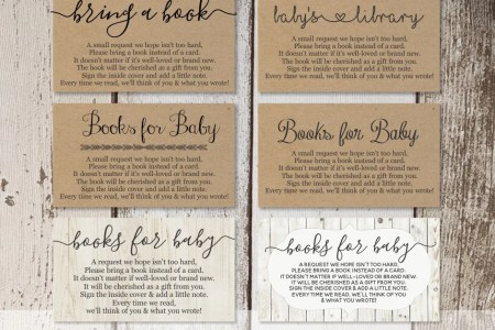 Printable Baby Shower Book Request   Bring a Book Instead of a Card     Printable Baby Shower Book Request   Bring a Book Instead of a Card    Rustic Wood Instant Download   Avery Business Card Template 8871