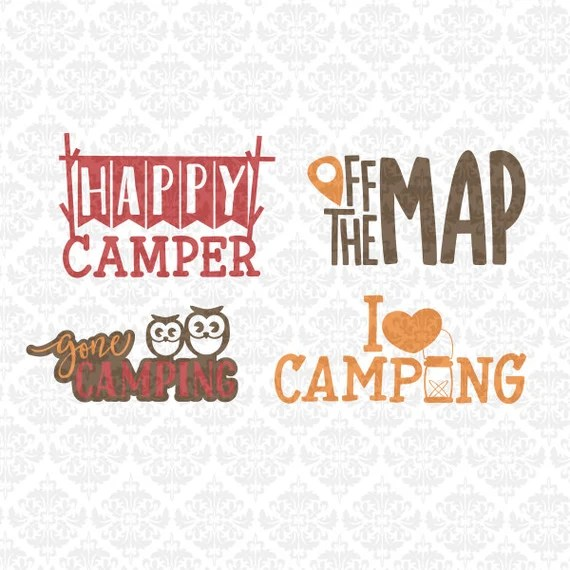 Download Items similar to Happy Camper I Love Camping Off Map Gone ...