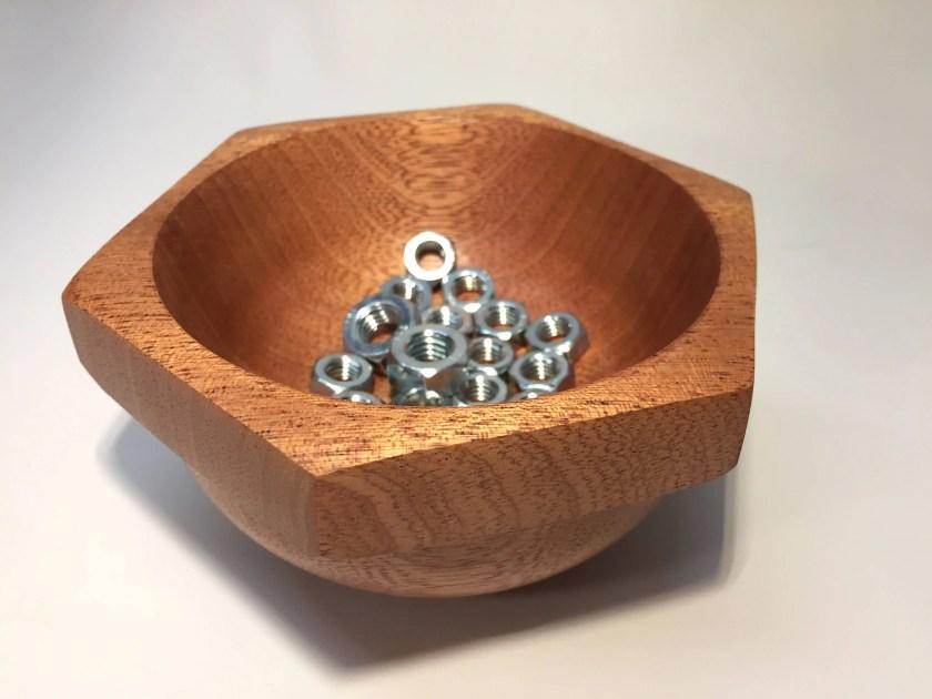 Nut Bowl no. 1 - Sapele H...