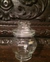 Thick Cut Lidded Glass Jar Clear With Plastic Air Tight Etsy