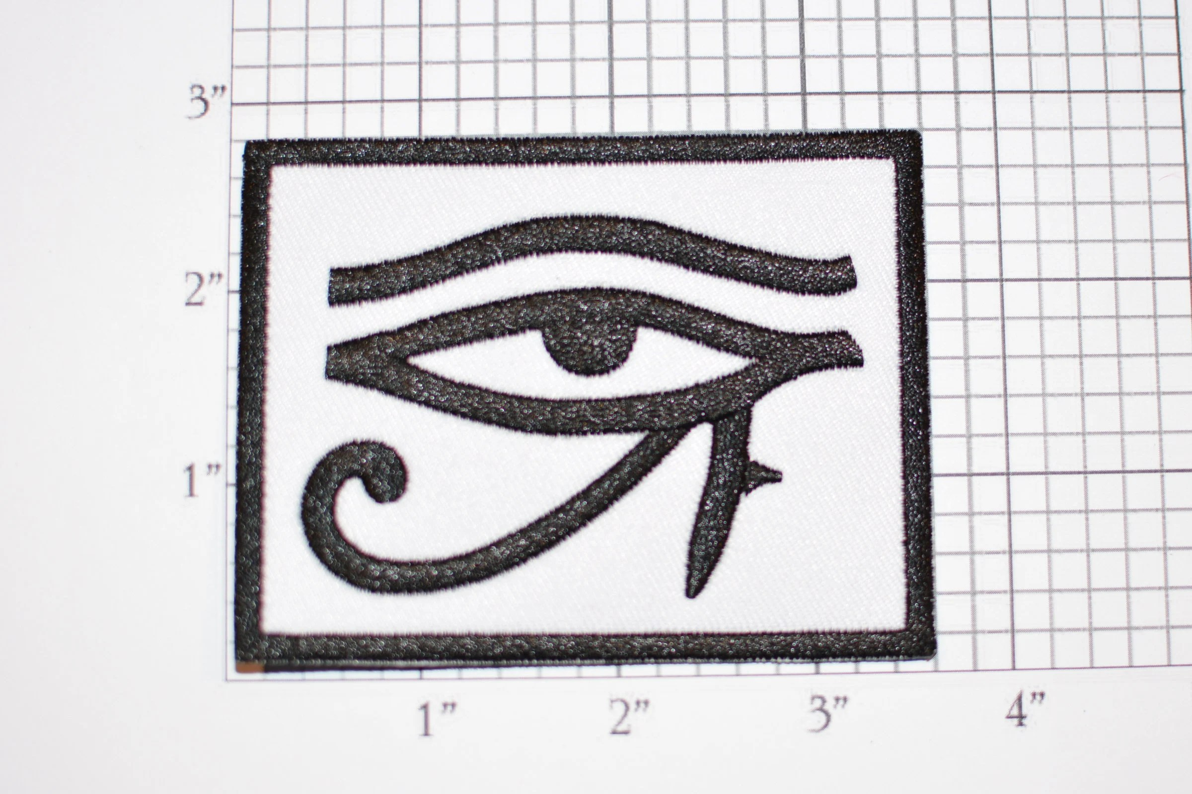 Eye Of Horus Heru Iron On Embroidered Patch Ancient