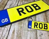 Car License Door Plaque &...
