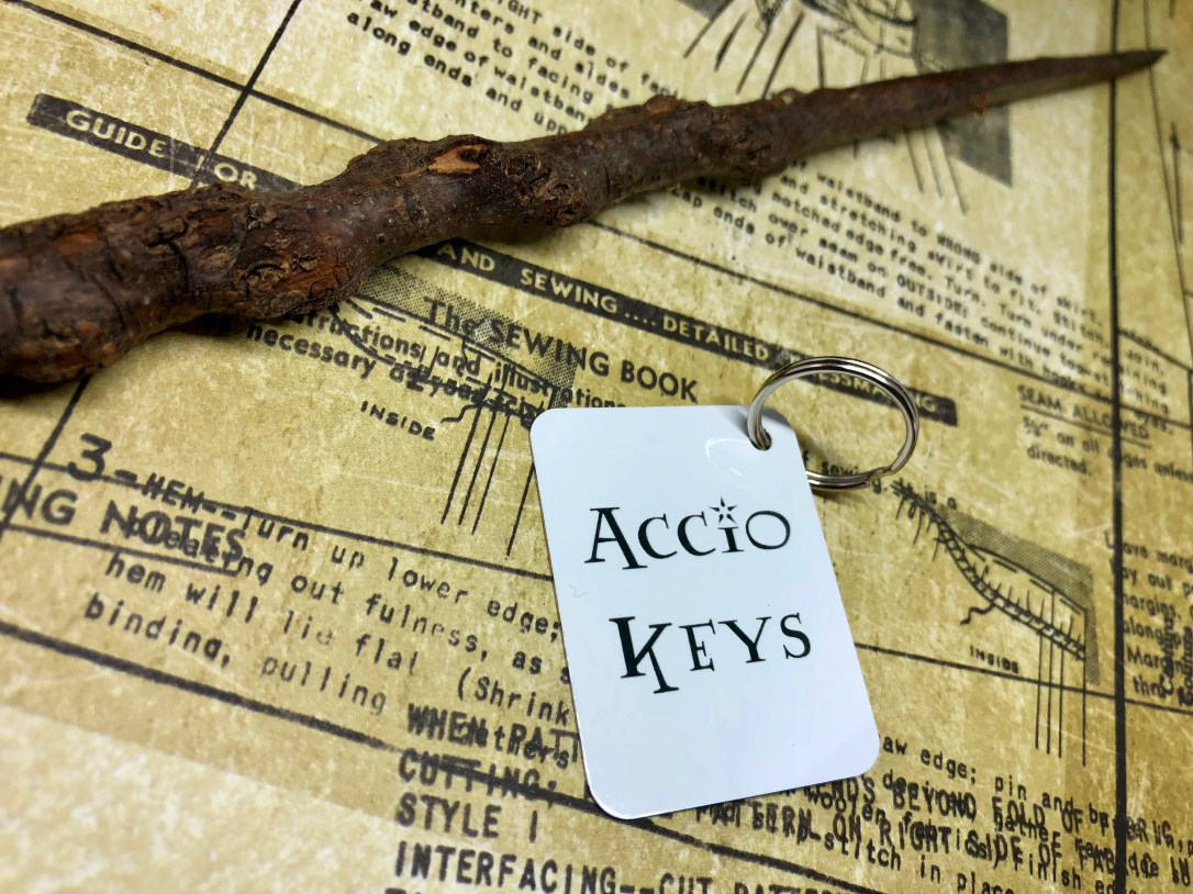 Accio Keys Keyring (Harry...