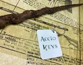 Accio Keys Keyring (Harry Potter inspired)