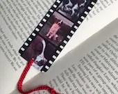 Personalised Film Strip Metal Bookmark
