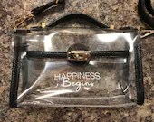 Happiness Begins Purse
