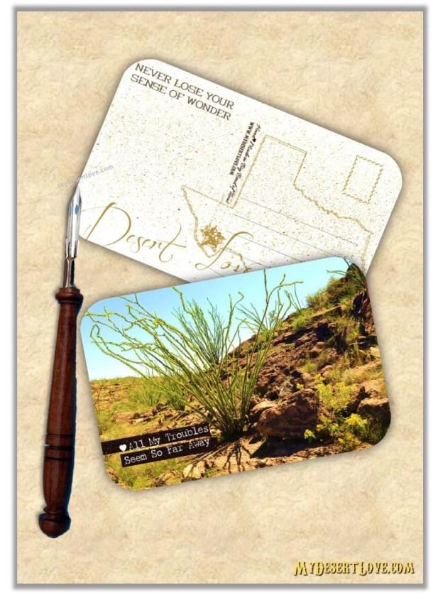Ocotillo Handmade Postcar...