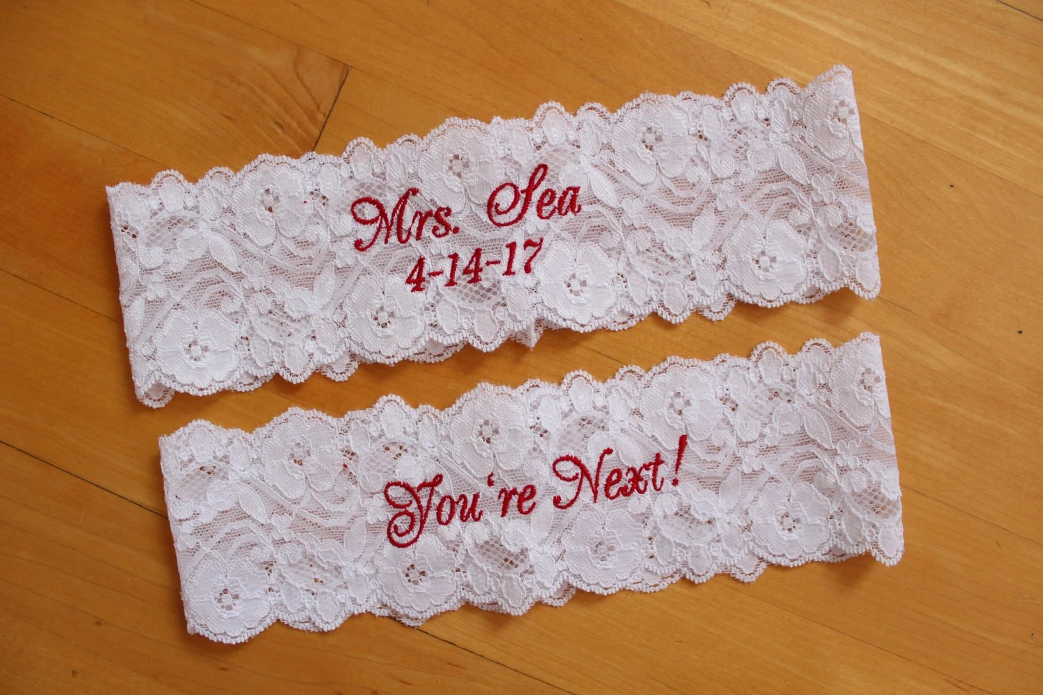 Bridal Garter Belt Set Of 2 Garters Bride Wedding Garter