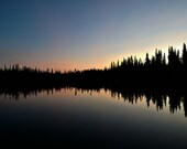 Ballaine Reflection After Sunset - Lustre or Metal Print