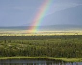 """Donnelly Rainbow - 8""""x12"""" Float Metal Print"""