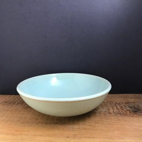 Pale blue bowl - pasta, s...