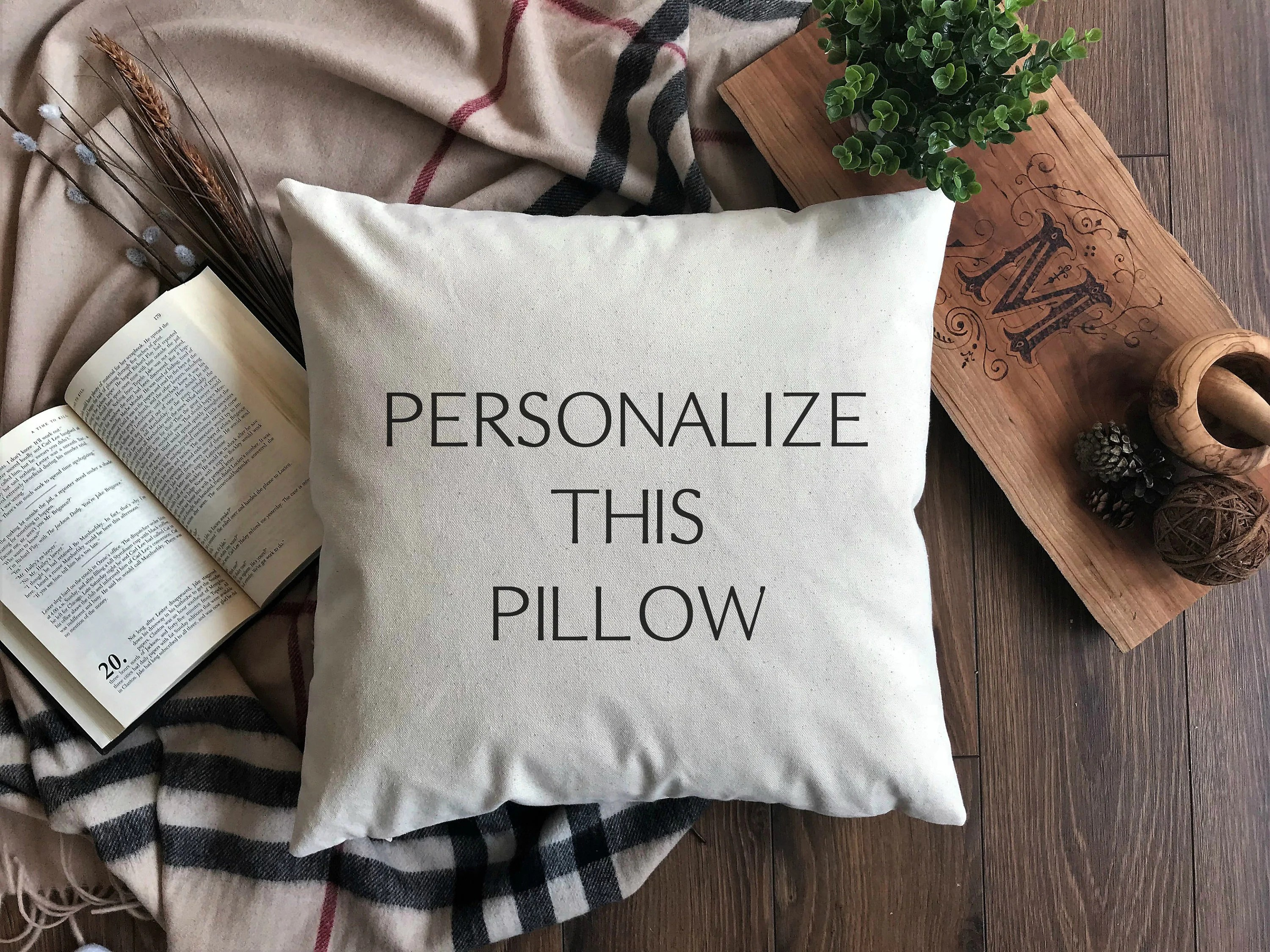 create your own pillow cover custom