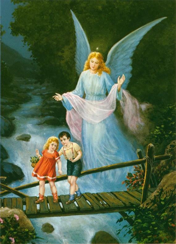 Angels Walking Heaven