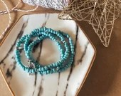 The blues wrap bracelet