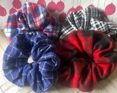 Fall scrunchies