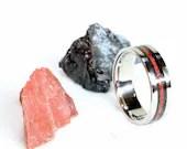 Titanium | Black Tourmaline & Red Jasper | Double the Properties!
