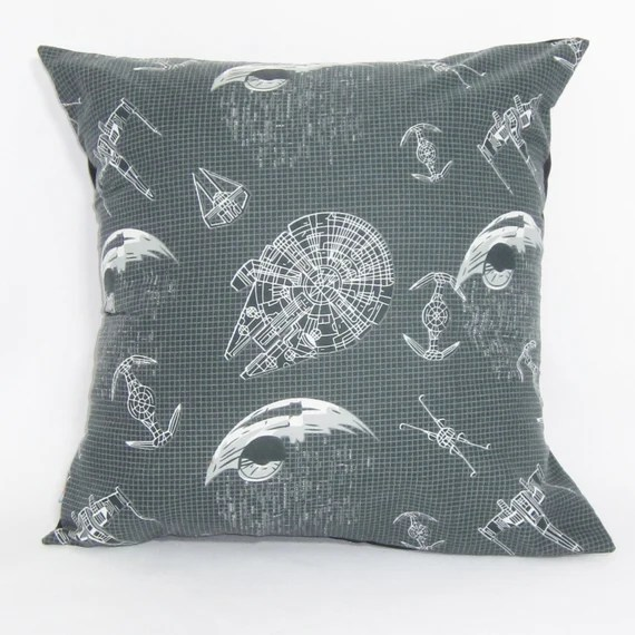 Star Wars Graphic Millenium Falcon Cushion