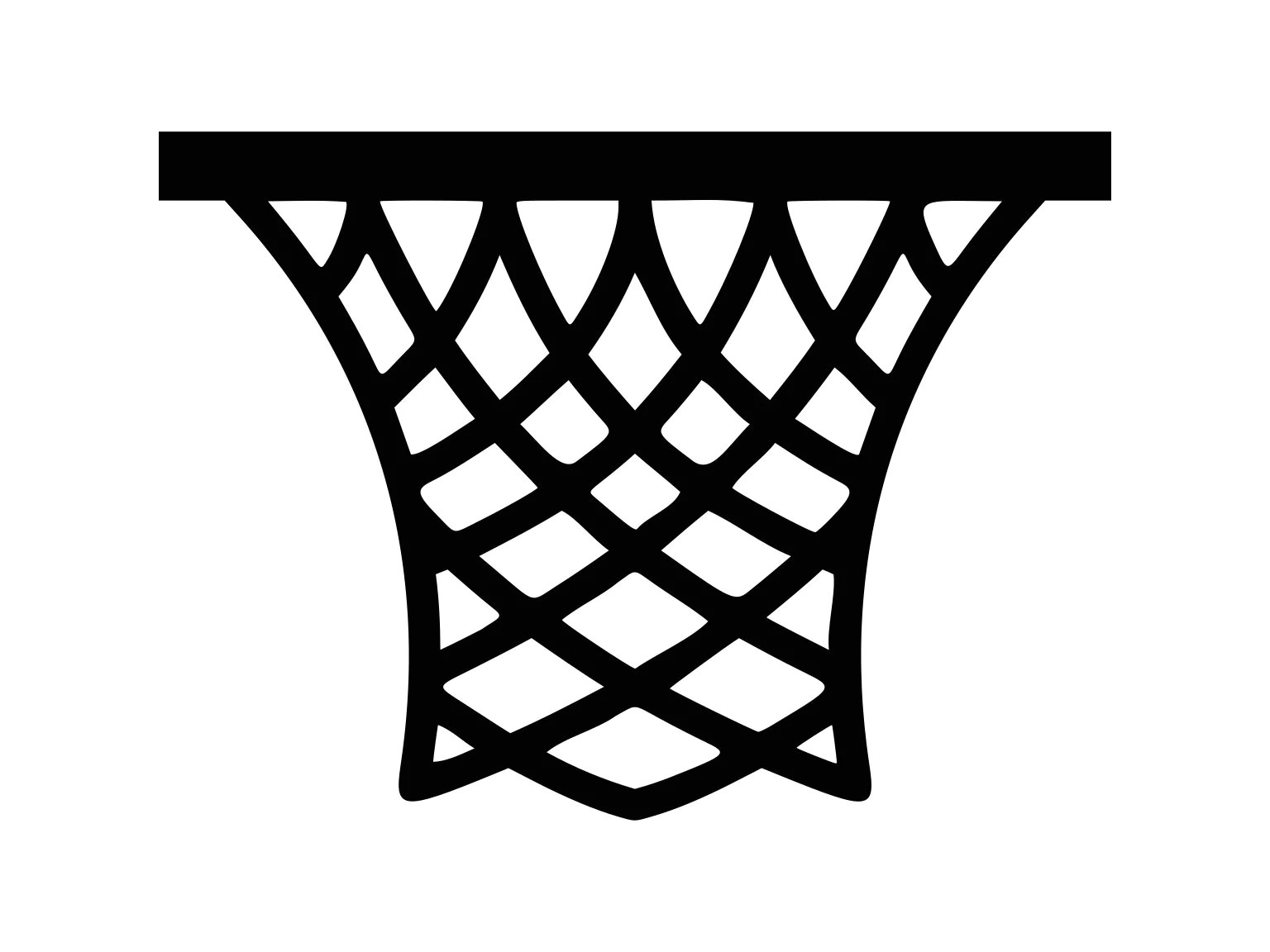 Basketball Hoop Clipart Basketball Svg Basketball Net Svg