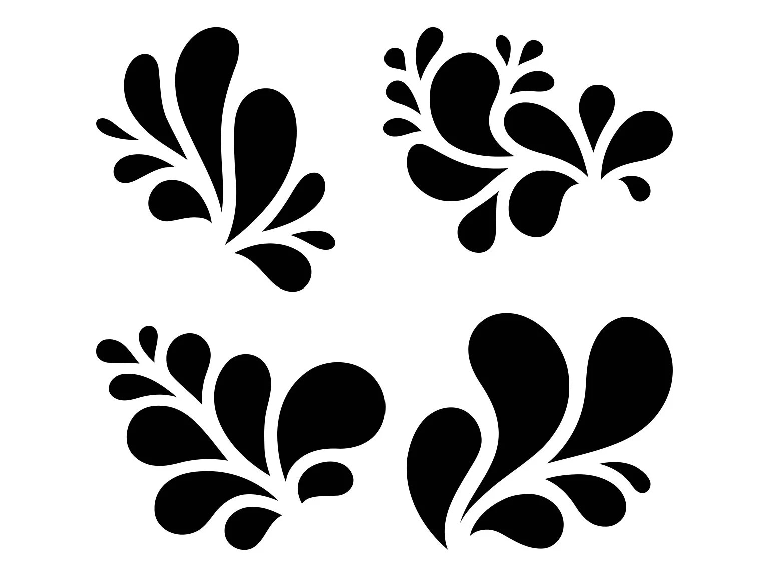 Flourish Clipart Svg Victorian Ornament Svg Victorian
