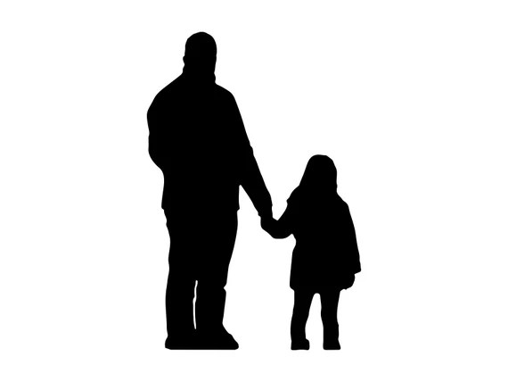 Download Father And Daughter Svg Dxf Png Eps Father And Daughter | Etsy