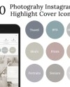 20 Photography Instagram Story Highlight Cover Icons Etsy