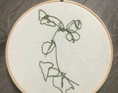Plants Embroidery: Ivy