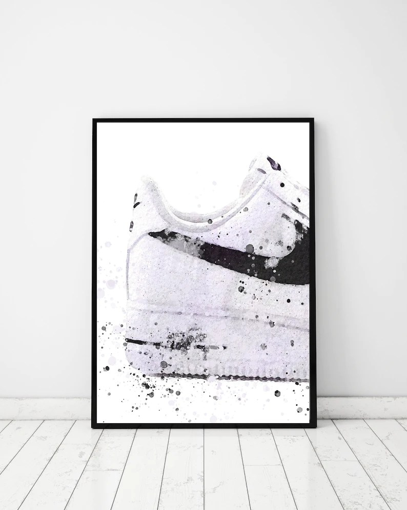 Fashion Wall Print Print for Men Teen Boys Room Decor image 0