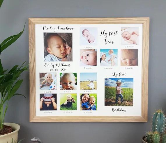 Baby Milestone Frame
