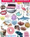 Set 26 Mockup Printable Tumblr Stickers Stickers Set Of Etsy