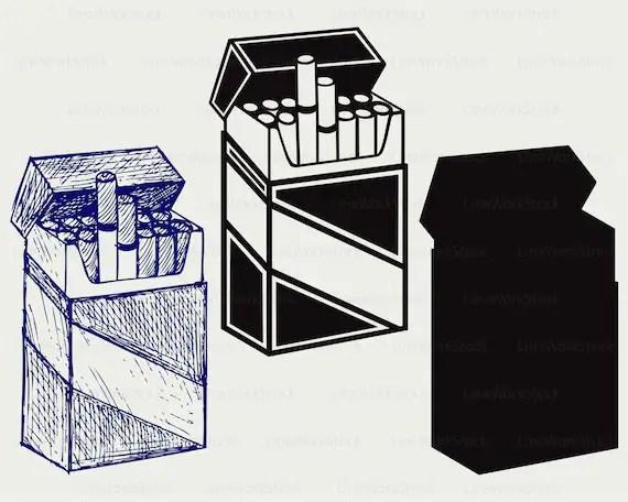 Clip Art Carton Cigerettes