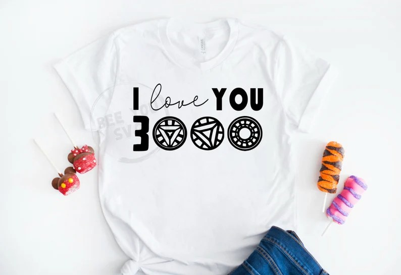 Download Love you 3000 svg file I Love You Three Thousand Iron Man ...