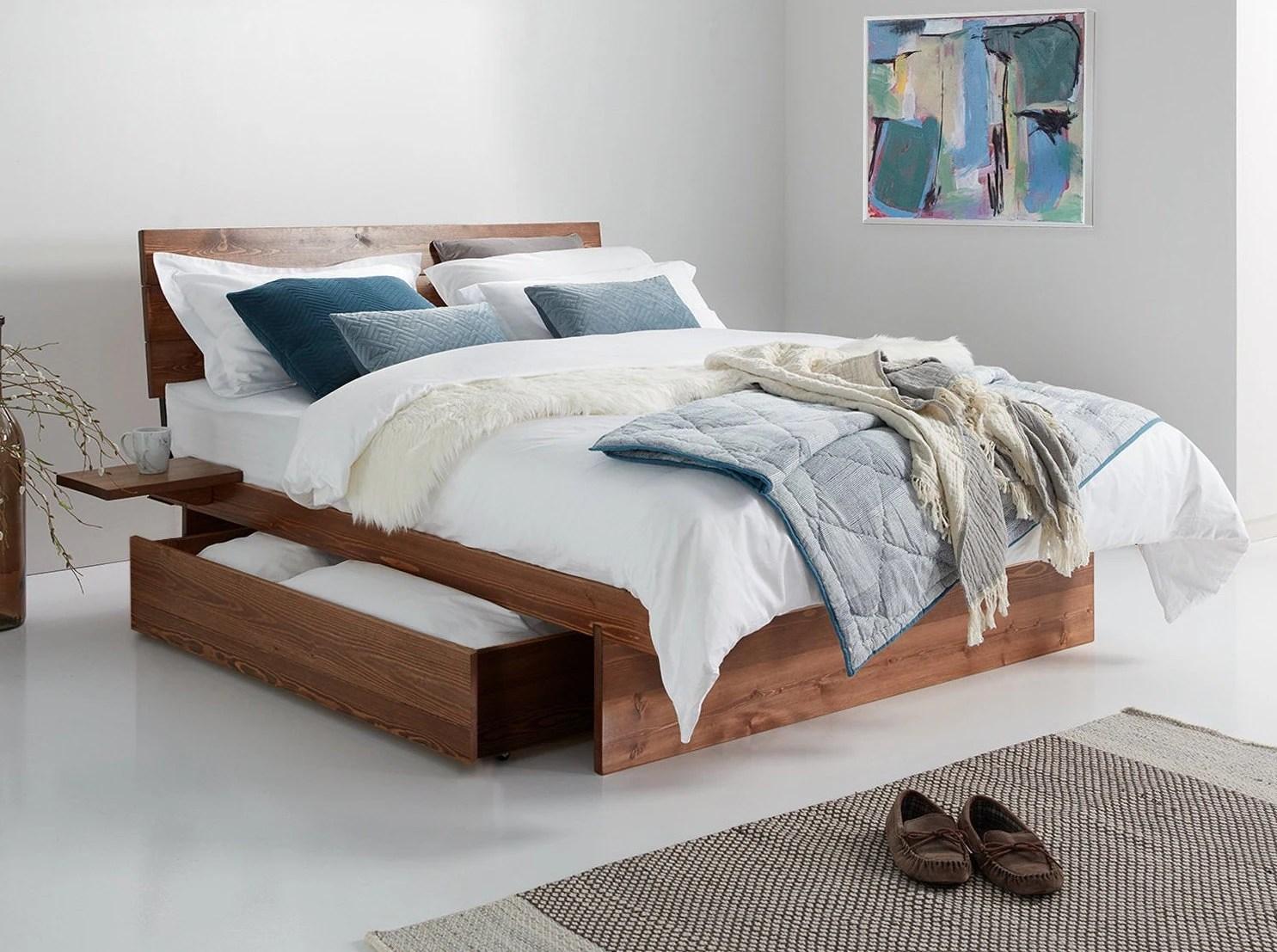 cadre de lit en bois japonais par get laid beds