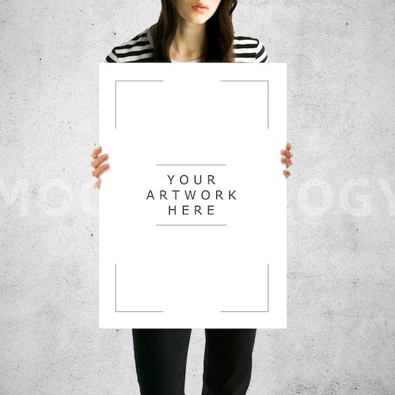Download Mockup Paper A3 Yellowimages