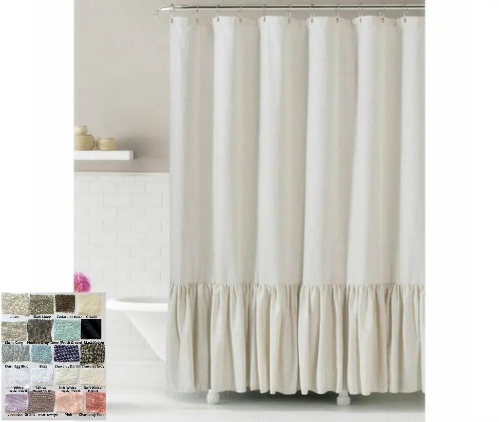 custom shower curtain extra long etsy